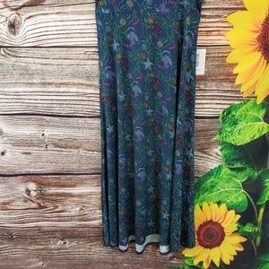 LulaRoe maxi skirt Size  Medium